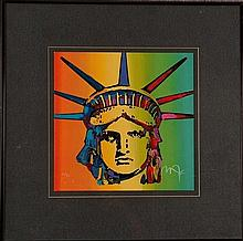 Peter Max - Liberty Head