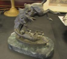 FREDERIC REMINGTON BRONZE WICKED PONY