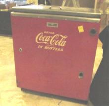 Upright Coke Vending Machine Vintage