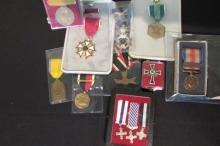 12 Assorted Medals, German, US Army WW2