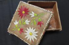 Native American Quilled Embroidery Case 7