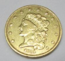 1834 CLASSIC $5 GOLD COIN RARE US
