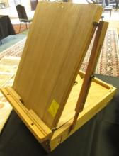 Art Easel Briefcase w/ Pallet Portable Folding