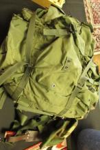 US Marine Rucksack Vietnam Cargo Backpack +Extras