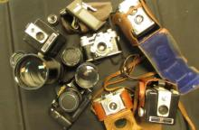 Cameras & Lenses Lot of 6