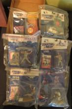 6 Starting Lineup Baseball Figures NIB New Box