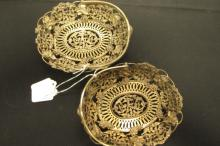 Two Bigelow Kennard & Co. Sterling Fruit Baskets