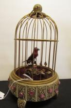 Automaton Bird Cage Mechanical Music Box