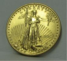 2002 US $10 Gold Coin MS70 BU