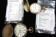 Waltham & Elgin Hunting Case Pocket Watches