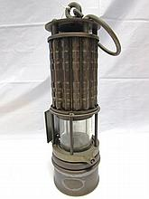 COAL MINERS GAS LANTERN WOLF SAFETY LAMP NY