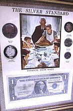 SILVER STANDARD COIN SET ROCKWELL FREEDOM BILL