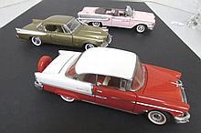 CHEVY EDSEL STUDABAKER MODEL CARS FRANKLIN MINT