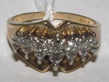 .25CT DIAMOND RING 14K YELLOW GOLD