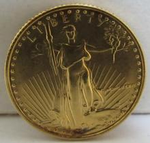 1986 $10 DOLLAR GOLD COIN EAGLE FIRST YEAR