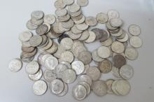 100 KENNEDY SILVER 1964 HALF DOLLAR US COIN $50