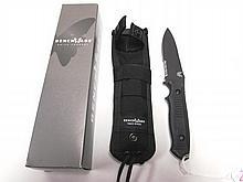 BENCHMADE NIMRAVUS KNIFE NIB w/ SHEATH BLACK CLASS
