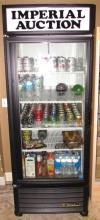 LARGE UPRIGHT SODA COOLER REFRIGERATOR COMMERCIAL