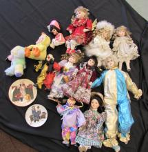 DOLL LOT TOYS NORMAN ROCKWELL PLATES COLLECTOR