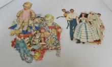 PAPER DOLLS KEWPIE & GONE WITH THE WIND