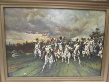 OIL ON BOARD JOHN K. FRANKE 1893 ANTIQUE ART