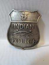 INDIAN POLICE BADGE VINTAGE