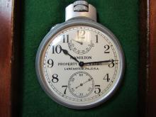 HAMILTON CHRONOMETER SHIP'S WATCH CLOCK WOOD CASE