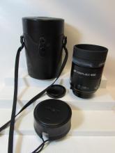 MINOLTA CAMERA LENS 35mm IN CASE AF REFLEX 500