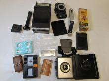 CAMERA LOT KODAK OMEGA VIEW ANSCO GE
