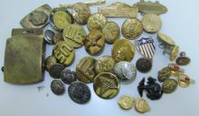 LOT WWII US ARMY NAVY BUTTONS