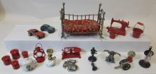 20PC MINIATURE DOLLHOUSE FURNITURE ACCESSORIES