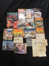 15 LIONEL BOOKS BROCHURES & INSTRUCTIONS 1957-2009