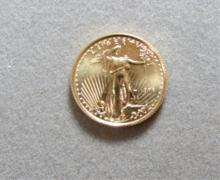 1998 $5 GOLD EAGLE US COIN