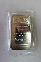 PROOF SILVER 10 OZ TROY BAR NTR REFINERS