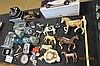 Assorted Lot Glass, Farm Animals, Horse, Jar