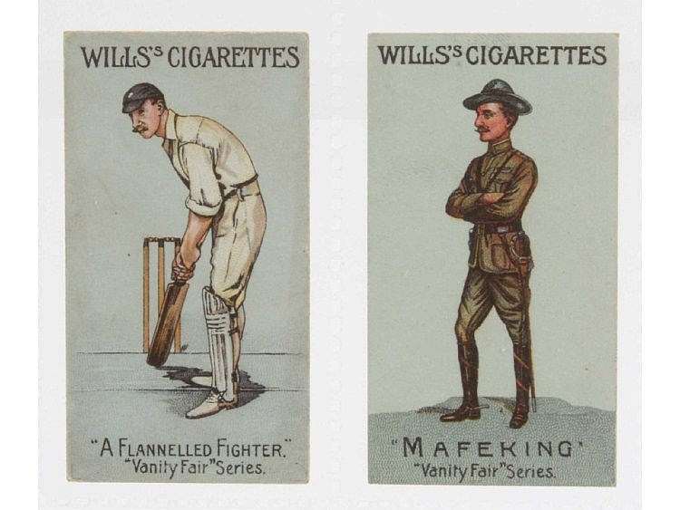 Cigarette cards, Will's, Vanity Fair (unnumbered)