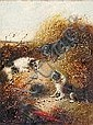 ARMFIELD, EDUARD (England 1817-1896) Drei Terrier