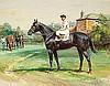 Stainforth, Martin - Black Tarquin at 3, Watercolor gouache, 9 x 11