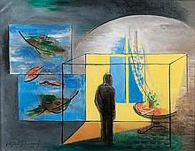 Ahlers-Hestermann Friedrich, Hamburg 1883  -  Berlin 1973   Einsamkeit - Solitude