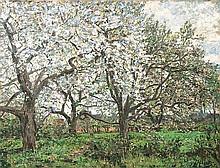 Alberts Jacob, Westerhever 1860  -  Malente-Gremsm. 1941   Spring in the Vierlande
