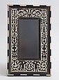 RENAISSANCE STYLE INLAID EBONY PICTURE FRAME