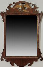 Chippendale Style Mahogany and Parcel-Gilt Mirror