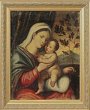 Italian School: Madonna and Child