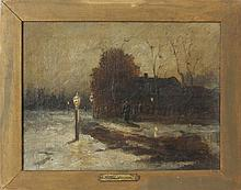 Robert Assmuss (1837-1904): Lamplighter