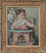 20th Century School: Baby in a Highchair