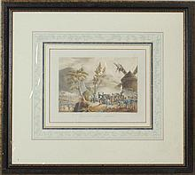Thomas Sutherland (c.1785-c.1820) After William Heath (1795-1840): Battle of Roleia; Storming of Monte Video; Defeat of a French Div...