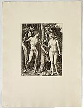 After Albrecht Durer (1471-1528): Adam and Eve