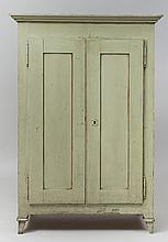 Mint-Green Painted Food Cabinet