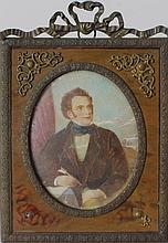 Portrait Miniature of Franz Schubert