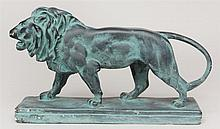 Patented Plaster Model of a Lion